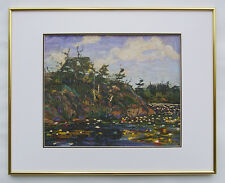 "Tom Thomson, Group of Seven ""The Lily Pond"" in Glossy Gold frame"