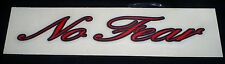 Vintage 90's red No Fear skateboard motorcross motocross bmx bicycle sticker