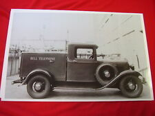 1934 FORD  TRUCK  BELL TELEPHONE CO.  11 X 17  PHOTO   PICTURE