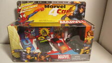 2003 Johnny Lightning MARVEL 4-car box set Wolverine, Spiderman, X-Men
