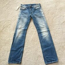 DIESEL Men's Jeans Denim Larkee 0827F SIZE: 30/34 Straight Fit $198