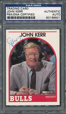 John Red Kerr Signed Trading Card PSA/DNA Certified Authentic Auto *9921