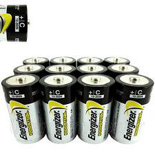 12 x Energizer C size batteries Industrial 1.5V LR14 MN1400 EN93 Baby EXP:2026