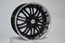 4 GWG Wheels 20 inch Black AMAYA Rims 20x10 fit 5x120 ET42 BMW M6 (E63 E64) 2013