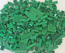 NEW LEGO 100+ GREEN MIX OF PARTS PIECES FROM HUGE BULK LOT RANDOM LEGOS LB