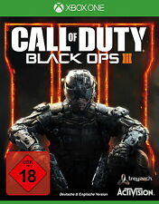 XBOX ONE Call Of Duty Black Ops 3 III Microsoft CoD Shooter komplett deutsch OVP