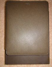 Michael Kors Saffiano Leather Tablet Case IPad Olive Army Green NEW 39S5LELL3L