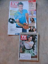 TV Guide collectible last small and first large editions 10/10,10/17/05