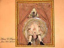 Artisan Arturo E.Reyna THE CAN-CAN DANCER Original Sculpture 3D Wall Hanging Art