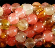 8MM 15inches Watermelon Tourmaline Gem Round Loose Bead AAA