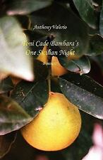 Toni Cade Bambara's One Sicilian Night: A Memoir by Valerio, Anthony