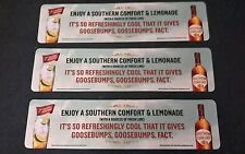 3 x Southern Comfort rubber backed bar runner / mat (new) Clearance Sale