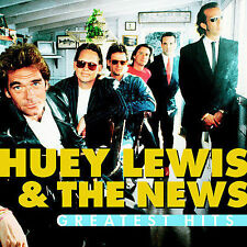 NEW Greatest Hits by Huey Lewis & The News CD (CD) Free P&H