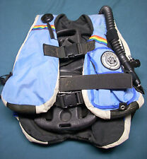 Seatec Buoyancy Control Jacket SCUBA diving blue small BCD