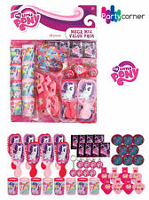 MY LITTLE PONY PARTY SUPPLIES FAVOURS 48 PC MEGA VALUE FAVOUR PACK GENUINE LICEN