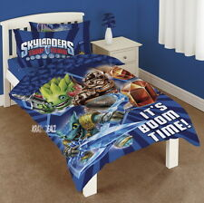 Official Skylanders Trap Team Single Panel Duvet Cover Bed Set New Gift