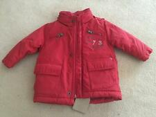 TIMBERLAND - Baby Boys SZ 9-12Mths RED PARKA/JACKET w/HIDDEN HOOD NWT*Very WARM