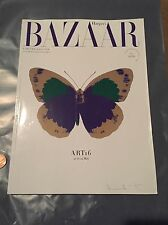 limited edition bazaar magazine By Damien Hirst