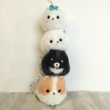 2016 AUTHENTIC Amuse Japan Pometan Pomeranian Puppy Mini Plush Charm
