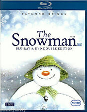 The Snowman - Raymond Briggs [2 Disc Set 1 Blu Ray Disc 1 DVD Disc] (New)