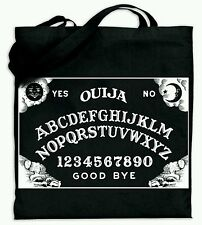 Ouija Board Horror Cult Black Cotton Tote Bag - Carry All Purse Book  Bag