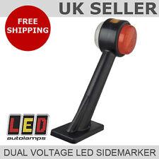 Dual Voltage 12v / 24v LED Rubber Mount Side Marker Stalk Lamp *5 YEAR WARRANTY*