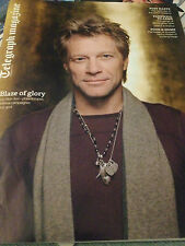 UK TELEGRAPH magazine March 2013 JON BON JOV kansai yamamoto DAVID BOWIE