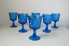 Noritake Perspective Blue Wine Glasses, Set of (6)