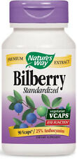 Bilberry Standardized - 90 VCaps - Nature's Way
