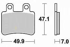 Jeu 2 plaquettes de frein Arrière de qualité Yamaha DT 50 X SM (6T) 2003 - 2011