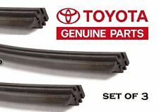 TOYOTA OEM Factory 2011-2016 SIENNA Rubber Wiper Blade Insert Refill Set