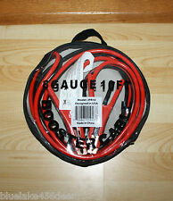 10' ft 8 Guage Battery Booster Cables Jumping Cables Jumper Cables   Car Truck