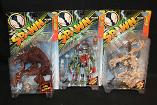 1996 Spawn Action Figure 3pc Lot No-Body The Mangler Scourge