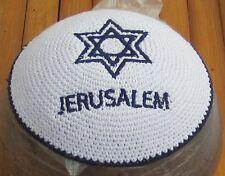 Kippah Kippah Jewish Cap Kippah Yarmulke Israel Yamaka Jerusalem Kipot Kipa Juif