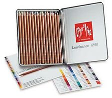Caran D'ache Luminance Coloured Pencil 16 Colour Tin