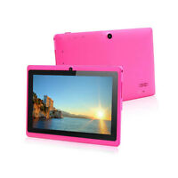 "7"" 4GB Pink Tablet PC Google Android 4.2 A23 1.5GHz Dual Core Dual Camera WI-FI"