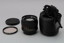 [NEAR MINT] Contax Sonnar 85mm f/2.8 T* Carl Zeiss AEG Lens w/Case from Japan