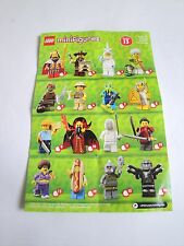 LEGO Minifigures Series 13 Collectors Instruction Check Sheet