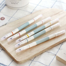 5pcs 2Way Retro pen set /  twin deco pen/ Kawaii pen/ korean stationery