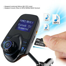 Newest LED Bluetooth FM Transmitter MP3 Player Radio Adapter USB Car Kit Charger