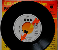 "★★7"" DE**PETER TOSH - GET UP, STAND UP / LEGALIZE IT (CBS '78 / PROMO)★★19793"