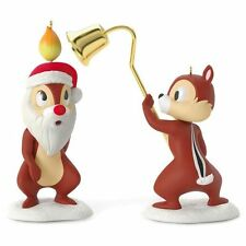 Hallmark 2016 A Merry Pair Chip and Dale Disney  Ornament