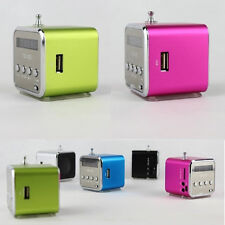 1PC Digital Mini Speaker Music Angel Support USB Micro SD TF Card FM MP3 for PC