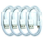 4X  New USB Cable Data Sync Charger Cord for iPhone 5 5S 5C iPhone 6 6 Plus