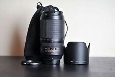 Nikon AF-S 70-300mm VR Lens!  FX Telephoto Lens w/ Tiffe UV Filter!  US Version!