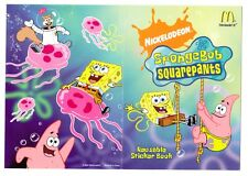 MRE * SpongeBob SquarePants Reusable Sticker Book