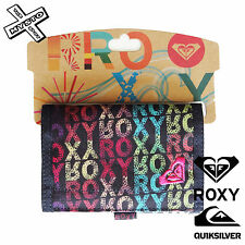 QUIKSILVER ROXY 'HASH ROX' WOMENS WALLET TRIFOLD PURSE SURF SURFER BNWT NEW