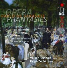 DE SARASATE / REINHOLD / ZE...-Sarasate: Opera Phantasies, La Sup Aud NEW