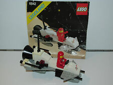 LEGO SPACE No 6842 SMALL SPACE SHUTTLE CRAFT 100% COMPLETE + INSTRUCTIONS 1980s