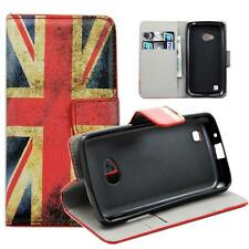 Union Jack PU Leather Wallet Stand Flip Phone Case Cover For LG L50 Sporty D213N